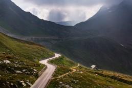 Alpen, Alpenpass, Brücke, Col du Grand St-Bernard, Objekte, Orte, Passstrasse, Schweiz, Strassenverkehr, Suisse, Switzerland, Verkehr, italia