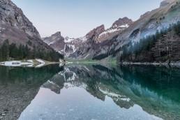 Alpen, Alpstein, Appenzell, Appenzell Innerrhoden, Appenzellerland, Bergsee, Gewässer, Landschaft und Natur, Orte, Ostschweiz, Schweiz, See, Seealpsee, Suisse, Switzerland, Säntis, lake