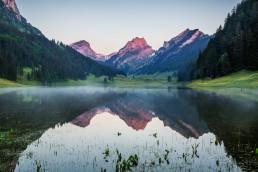 Alpen, Alpstein, Appenzell, Appenzell Innerrhoden, Appenzellerland, Bergsee, Gewässer, Landschaft und Natur, Orte, Ostschweiz, Schweiz, See, Suisse, Switzerland, Sämtisersee, lake