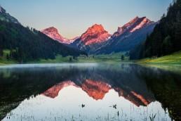 Alpstein, Appenzell, Appenzell Innerrhoden, Bergsee, Schweiz, Suisse, Switzerland, Sämtisersee, lake