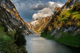 Alpen, Alpstein, Appenzell, Appenzell Innerrhoden, Appenzellerland, Berge, Bergsee, Clouds, Fählensee, Gewässer, Landschaft und Natur, Orte, Ostschweiz, Schweiz, See, Suisse, Switzerland, Wetter, Wolken, lake