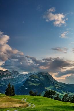 Appenzell, Appenzell Innerrhoden, Appenzellerland, Clouds, Jahreszeiten, Landschaft und Natur, Natur, Orte, Ostschweiz, Schweiz, Sommer, Suisse, Switzerland, Säntis, Wetter, Wolken, summer