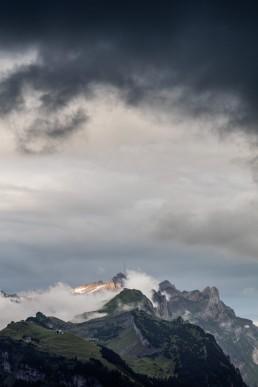 Alpen, Alpstein, Appenzell, Appenzell Innerrhoden, Appenzellerland, Clouds, Landschaft und Natur, Orte, Ostschweiz, Schweiz, Suisse, Switzerland, Säntis, Wetter, Wolken