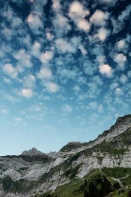 Alpen, Alpstein, Appenzell, Appenzellerland, Clouds, Landschaft und Natur, Orte, Ostschweiz, Schweiz, Suisse, Switzerland, Säntis, Wetter, Wolken