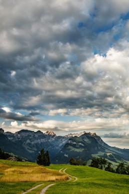 Alpen, Alpstein, Appenzell, Appenzell Innerrhoden, Appenzellerland, Clouds, Jahreszeiten, Landschaft und Natur, Natur, Orte, Ostschweiz, Schweiz, Sommer, Suisse, Switzerland, Säntis, Wetter, Wolken, summer