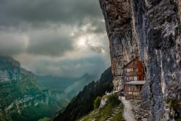 Alpen, Alpstein, Appenzell, Appenzell Innerrhoden, Appenzellerland, Clouds, Landschaft und Natur, Orte, Ostschweiz, Schweiz, Suisse, Switzerland, Wetter, Wolken, Äsher
