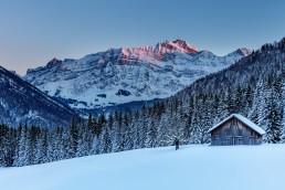 Alpen, Alpstein, Appenzell, Appenzellerland, Jahreszeiten, Landschaft und Natur, Natur, Orte, Ostschweiz, Schweiz, Suisse, Switzerland, Säntis, Urnäsch, Winter