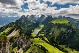 Alpen, Alpstein, Appenzell, Appenzell Innerrhoden, Appenzellerland, Clouds, Jahreszeiten, Landschaft und Natur, Natur, Orte, Ostschweiz, Schweiz, Sommer, Suisse, Switzerland, Sämtisersee, Wetter, Wolken, summer