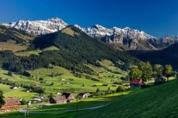 Appenzell, Appenzellerland, Jahreszeiten, Landschaft und Natur, Natur, Orte, Ostschweiz, Schweiz, Sommer, Suisse, Switzerland, Säntis, summer