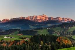 Appenzell, Appenzellerland, Autumn, Fall, Herbst, Jahreszeiten, Landschaft und Natur, Natur, Orte, Ostschweiz, Schweiz, Suisse, Switzerland, Säntis, Waldstatt