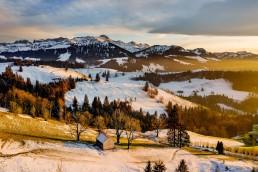 Appenzell, Appenzellerland, Hundwil, Jahreszeiten, Landschaft und Natur, Natur, Orte, Ostschweiz, Schweiz, Suisse, Switzerland, Säntis, Winter