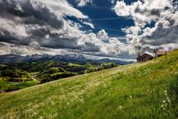 Appenzell, Appenzellerland, Bühler, Clouds, Frühling, Jahreszeiten, Landschaft und Natur, Natur, Orte, Ostschweiz, Schweiz, Spring, Suisse, Switzerland, Säntis, Wetter, Wolken