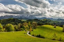 Appenzell, Bühler, Clouds, Frühling, Schweiz, Spring, Suisse, Switzerland, Säntis, Wolken