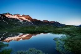 Alpen, Alpenpass, Bergsee, Bernina, Berninapss, Gewässer, Graubünden, Landschaft und Natur, Orte, Passo del Bernina, Schweiz, See, Suisse, Switzerland
