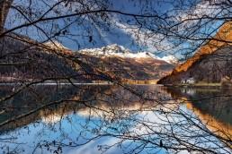 Alpen, Alpenpass, Autumn, Bergsee, Bernina, Berninapss, Fall, Graubünden, Herbst, Passo del Bernina, Schweiz, See, Suisse, Switzerland, lake