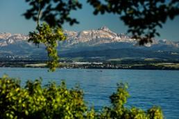 Bodensee, Deutschland, Hagnau, See, Säntis