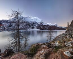 Alpen, Alpenpass, Autumn, Bergsee, Engadin, Fall, Graubünden, Herbst, Maloja, Maloja-Pass, Malojapass, Schweiz, See, Suisse, Switzerland, lake