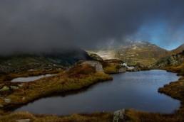 Alpen, Alpenpass, Bergsee, Clouds, Gewässer, Goms, Grimsel, Grimselpass, Landschaft und Natur, Oberwallis, Orte, Schweiz, See, Suisse, Switzerland, Vallais, Wallis, Wetter, Wolken
