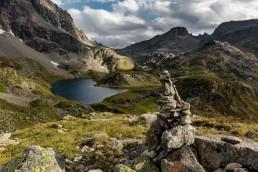 Alpen, Alpenpass, Bergsee, Gewässer, Graubünden, Landschaft und Natur, Orte, Schweiz, See, Suisse, Switzerland