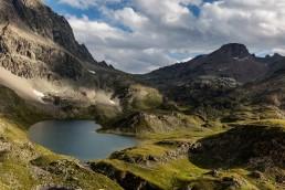 Alpen, Alpenpass, Berg, Berge, Bergmassiv, Bergsee, Gewässer, Graubünden, Schweiz, See, Suisse, Switzerland