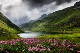 Alpen, Alpenpass, Bergsee, Clouds, Gewitter, Gewässer, Graubünden, Oberalppass, Schweiz, See, Stausee, Suisse, Surselva, Switzerland, Thunderstorm, Uri, Wolken