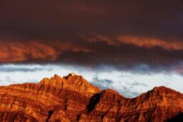 Abend, Appenzell, Appenzell Ausserrohden, Autumn, Berg, Berge, Bergmassiv, Clouds, Fall, Feuerhimmel, Herbst, Lichtsimmung, Suisse, Switzerland, Säntis, Urnäsch, Wetter, Wolken, dramatische Licht