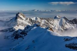 Alpen, Alpstein, Appenzellerland, Aussicht, Gipfel, Landschaft und Natur, Nebelmeer, Orte, Ostschweiz, Schweiz, Suisse, Switzerland, Säntis, Toggenburg, Wetter