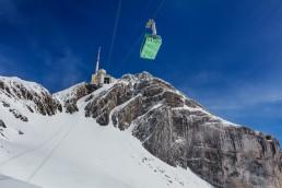 Alpen, Alpstein, Appenzellerland, Gipfel, Landschaft und Natur, Orte, Ostschweiz, Schweiz, Suisse, Switzerland, Säntis, Säntisbahn, Toggenburg