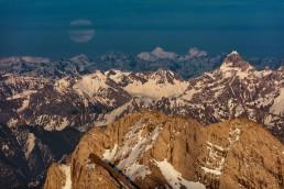 Alpen, Appenzellerland, Aussicht, Gipfel, Landscape, Landschaft, Landschaft und Natur, Mond, Orte, Ostschweiz, Schweiz, Suisse, Switzerland, Säntis, Vollmond