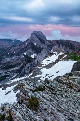 Alpen, Alpstein, Appenzellerland, Gipfel, Landschaft und Natur, Orte, Ostschweiz, Schweiz, Suisse, Switzerland, Säntis, Toggenburg