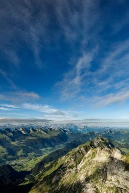 Alpen, Appenzellerland, Aussicht, Clouds, Gipfel, Landschaft und Natur, Orte, Ostschweiz, Schweiz, Suisse, Switzerland, Säntis, Toggenburg, Wetter, Wolken