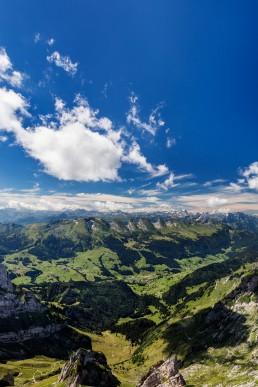 Alpen, Appenzell, Appenzellerland, Aussicht, Churfirsten, Landschaft und Natur, Orte, Ostschweiz, Schweiz, St. Gallen, Suisse, Switzerland, Säntis, Säntisbahn, Toggenburg