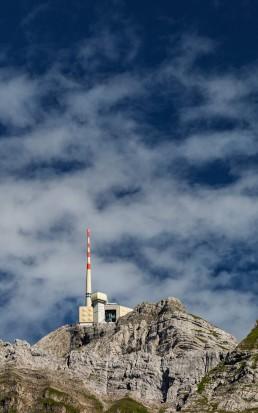 Alpen, Appenzellerland, Clouds, Gipfel, Landschaft und Natur, Orte, Ostschweiz, Schweiz, Suisse, Switzerland, Säntis, Wetter, Wolken