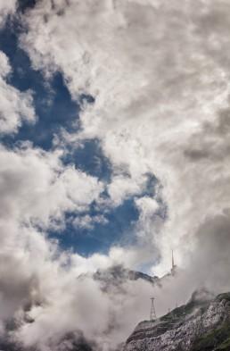 Alpen, Appenzellerland, Clouds, Gipfel, Landschaft und Natur, Orte, Ostschweiz, Schweiz, Suisse, Switzerland, Säntis, Toggenburg, Wetter, Wolken