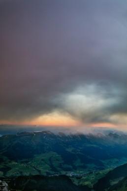 Appenzell, Appenzellerland, Aussicht, Churfirsten, Clouds, Landschaft und Natur, Orte, Ostschweiz, Schweiz, St. Gallen, Suisse, Switzerland, Säntis, Säntisbahn, Toggenburg, Wetter, Wolken