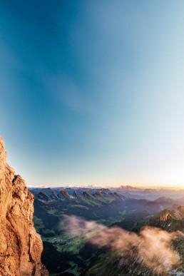 Alpen, Alpstein, Appenzellerland, Aussicht, Autumn, Churfirsten, Fall, Gipfel, Herbst, Jahreszeiten, Landschaft und Natur, Natur, Orte, Ostschweiz, Schweiz, St. Gallen, Suisse, Switzerland, Säntis, Säntisbahn, Toggenburg, Wolken