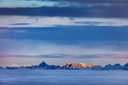Alpen, Appenzellerland, Aussicht, Clouds, Deutschland, Gipfel, Landschaft und Natur, Nebelmeer, Orte, Ostschweiz, Schweiz, Suisse, Switzerland, Säntis, Wetter, Wolken, Zugspitze