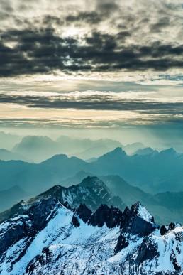 Alpen, Alpstein, Appenzellerland, Aussicht, Clouds, Gipfel, Landschaft und Natur, Orte, Ostschweiz, Schweiz, Sonnenschein, Suisse, Switzerland, Säntis, Toggenburg, Wetter, Wolken