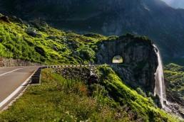 Alpen, Alpenpass, Bern, Berner-Oberland, Objekte, Orte, Passstrasse, Schweiz, Strasse, Strassenverkehr, Suisse, Sustenpass, Switzerland, Verkehr