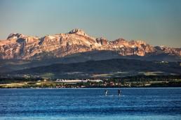 Bodensee mit Säntis
