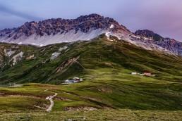 Alpen, Alpenpass, Berge, Graubünden, Landschaft und Natur, Morgen, Orte, Pass Umbrail, Schweiz, Suisse, Switzerland, Umbrailpass
