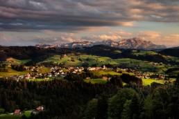 Alpen, Alpstein, Appenzell Ausserrohden, Appenzellerland, Berge, Hügel, Landscape, Landschaft, Landschaft und Natur, Orte, Ostschweiz, Schweiz, Suisse, Switzerland, Säntis, Wald