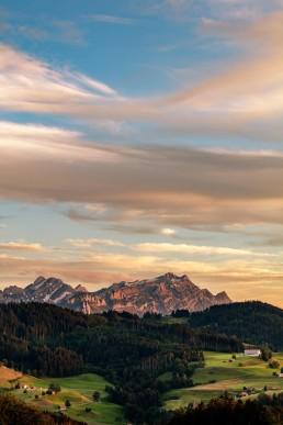 Alpstein, Berge, Hügel, Landscape, Landschaft, Ostschweiz, Schweiz, Suisse, Switzerland, Säntis, Wald, Wald AR