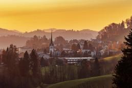 Appenzell Ausserrohden, Dorf, Ostschweiz, Schweiz, Suisse, Switzerland, Teufen