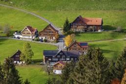 Appenzell Ausserrohden, Appenzeller Vorderland, Appenzellerland, Autumn, Dorf, Fall, Herbst, Ostschweiz, Rehetobel, Schweiz, Suisse, Switzerland