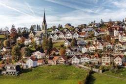 Appenzell Ausserrohden, Appenzeller Vorderland, Autumn, Dorf, Fall, Herbst, Ostschweiz, Rehetobel, Schweiz, Suisse, Switzerland