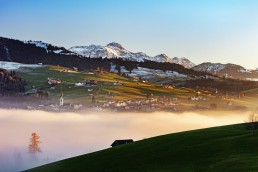 Appenzell Ausserrohden, Dorf, Fotografie, Hundwil, Landschaftsfotografie, Nebelmeer, Ostschweiz, Photography, Schweiz, Suisse, Switzerland, Säntis, Säntisbahn, Säntisbahn Säntis, Wetter, landscape photography