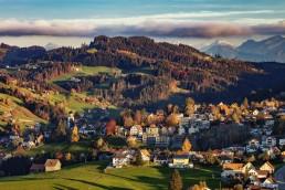 Appenzell, Appenzell Ausserrohden, Appenzellerland, Autumn, Dorf, Fall, Herbst, Ostschweiz, Schweiz, Suisse, Switzerland, Trogen