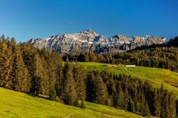 Alp, Alpen, Alps, Appenzell, Appenzellerland, Autumn, Berg, Berge, Fall, Herbst, Hügel, Jahreszeiten, Landschaft und Natur, Natur, Orte, Ostschweiz, Schweiz, Suisse, Switzerland, Säntis, Urnäsch