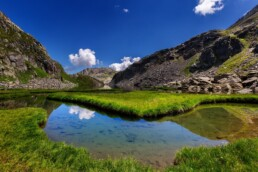 Alpen, Bergsee, Gewässer, Graubünden, Schweiz, See, Sommer, Suisse, Surselva, Switzerland, lake, summer